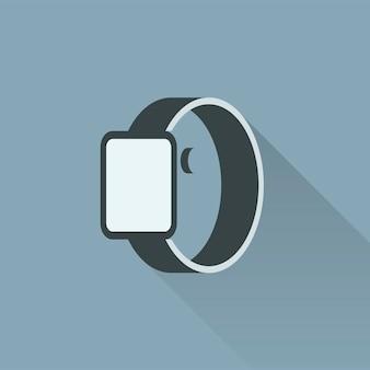 Illustration von smartwatch