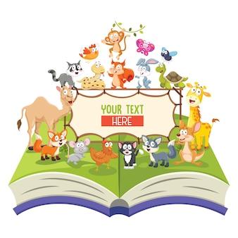 Illustration von tieren