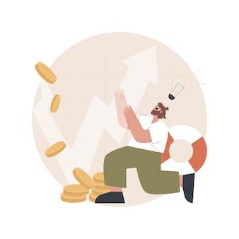 Illustration zum krisenmanagement