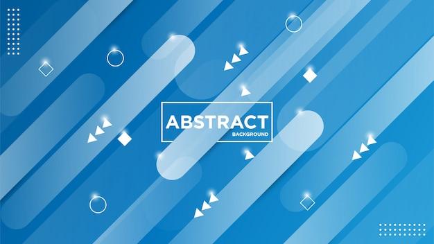 Illustrationsgrafik des modernen abstrakten geometrischen hintergrunds