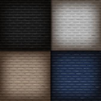 Illustrationshintergrund der backsteinmauerhintergrundsammlung.