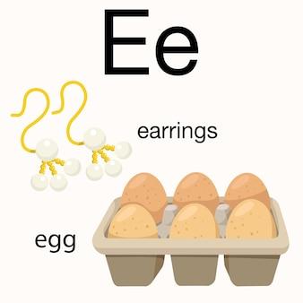 Illustrator des e-vokabulars