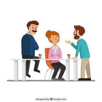 Im business-meeting-szene