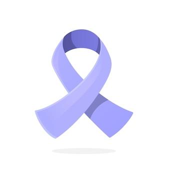 Immergrün hellviolettes bandbewusstsein über ösophagus-magen-magenkrebs-vektor