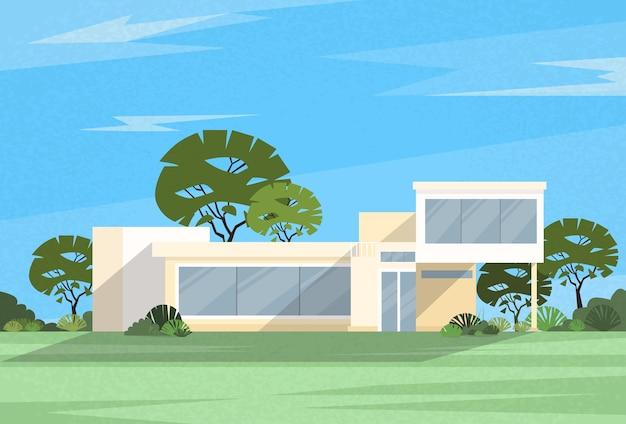 Immobilien big modern villa haus