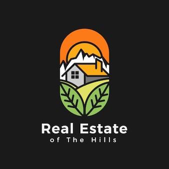 Immobilien des hügel-logos