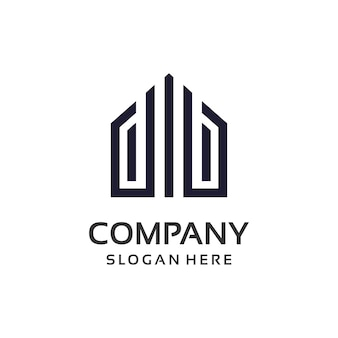 Immobilien-eigentum-logo-design