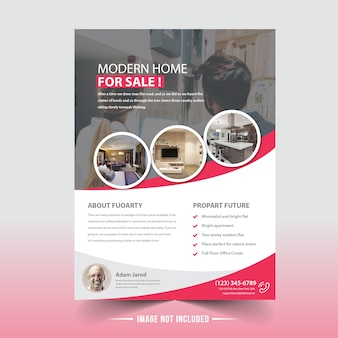 Immobilien flyer design