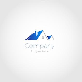 Immobilien haus logo