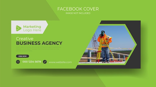 Immobilien haus miete verkauf social media post facebook cover und timeline web ad banner vorlage