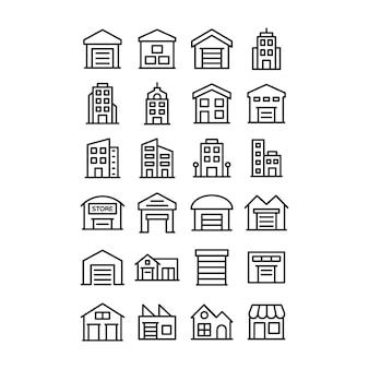 Immobilien icons pack