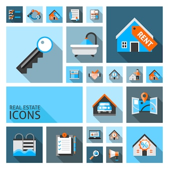 Immobilien-icons