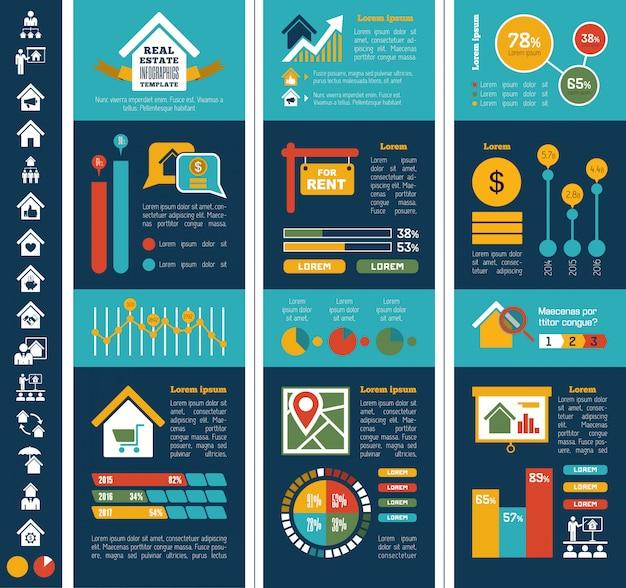 Immobilien-infografiken.