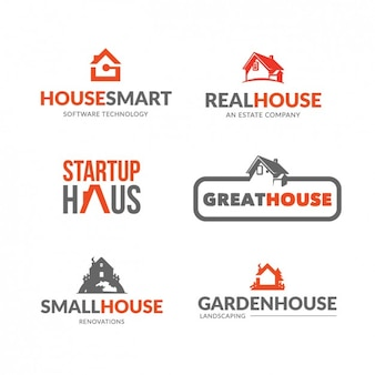 Immobilien logo collection
