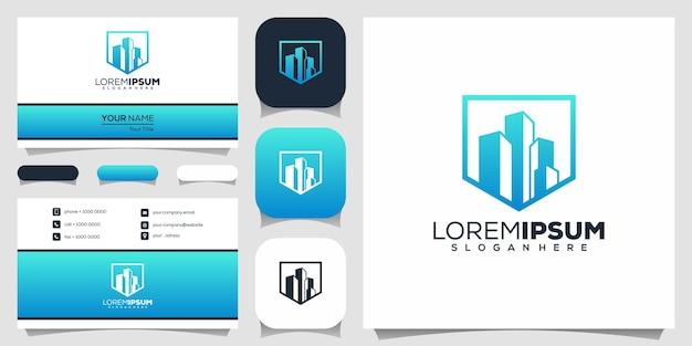 Immobilien logo-design