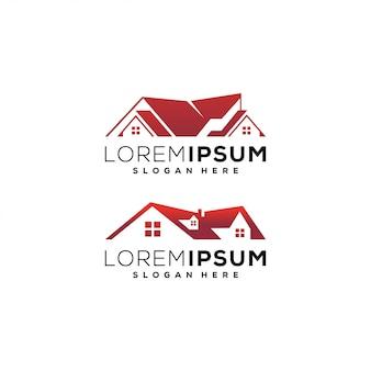 Immobilien logo home design