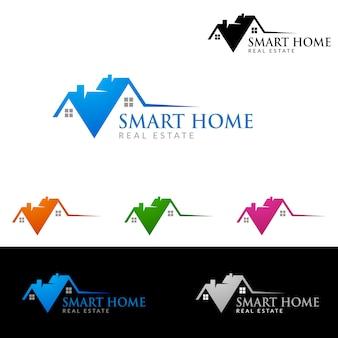 Immobilien Logo, Home Logo