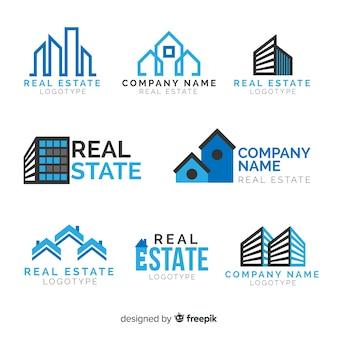 Immobilien-logo-sammlung