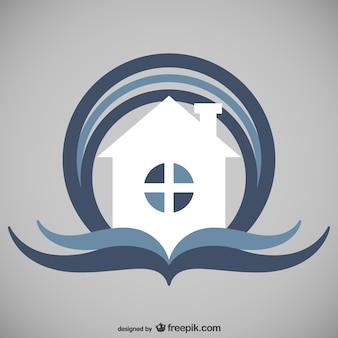 Immobilien logo-vorlage