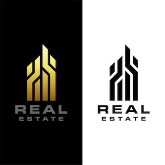 Immobilien logo vorlage
