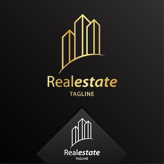 Immobilien-logo-vorlage