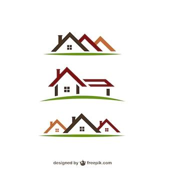 Immobilien logos