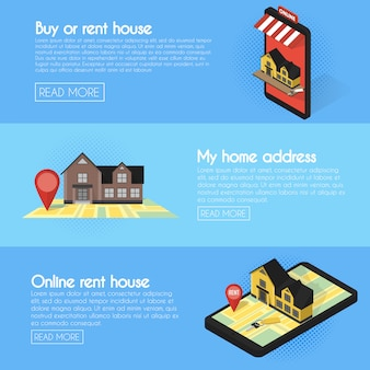 Immobilien online suchen banner festgelegt