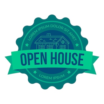 Immobilien open house label