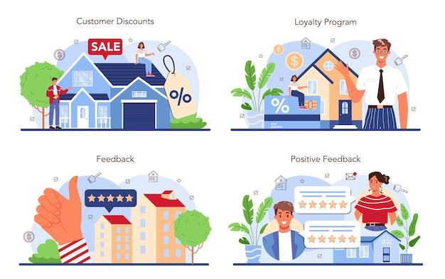 Immobilienbranche eingestellt. positives feedback von kunden. rabatt