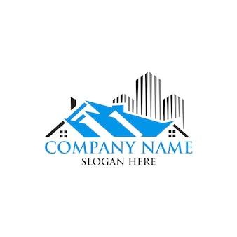 Immobilienhaus logo design