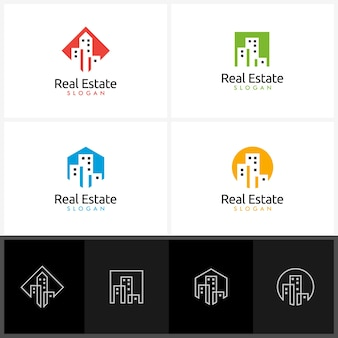 Immobilienlogo design
