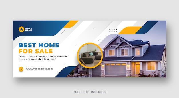 Immobilienverkauf social media facebook-cover-web-banner