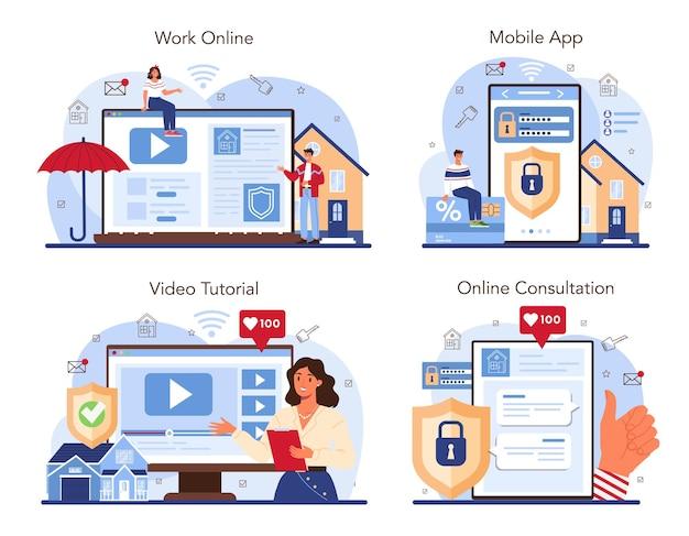 Immobilienvorteile online-service oder plattform setzen zuverlässige immobilien
