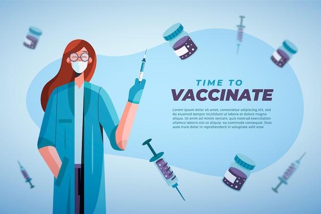 Impfkampagne gegen coronavirus