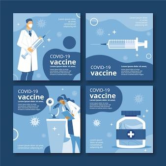 Impfstoff-instagram-postsammlung