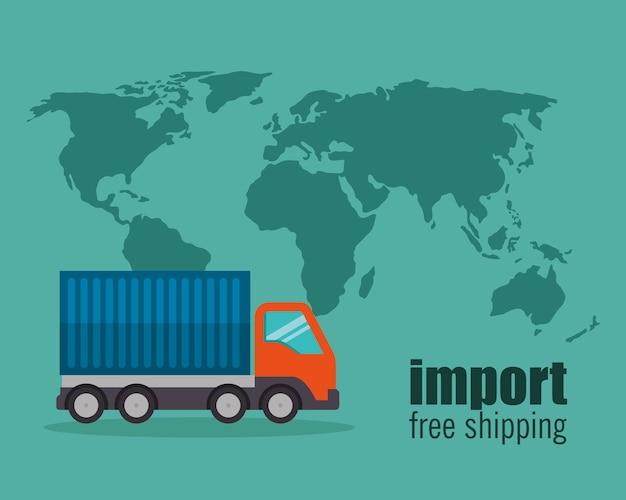 Import kostenloser versand lkw