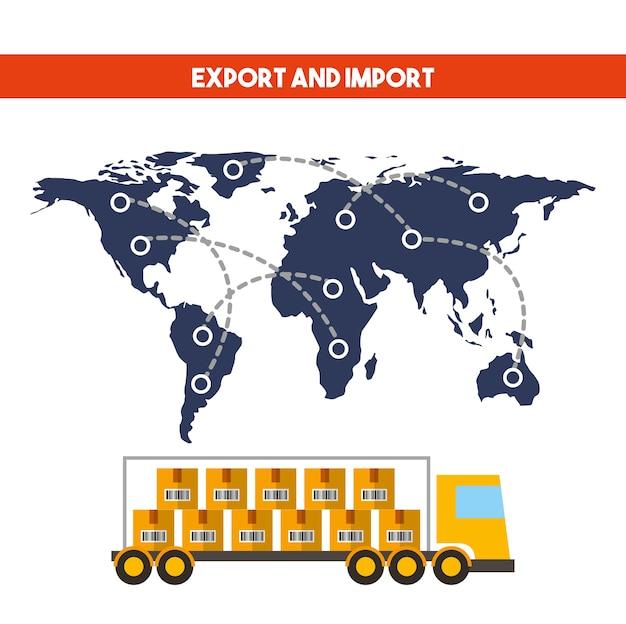 Import und export design