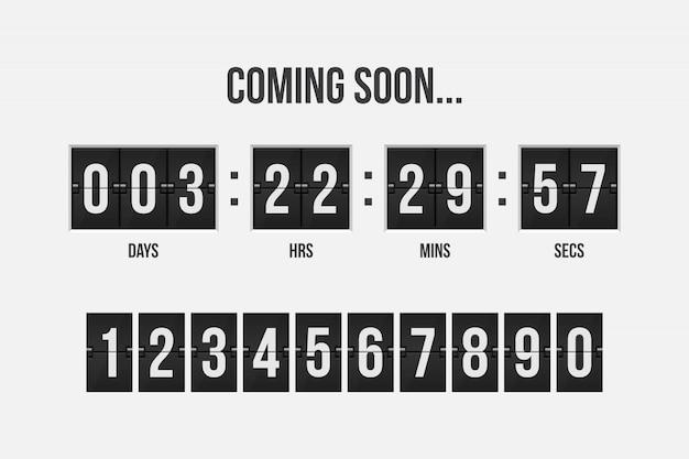 In kürze countdown-timer-illustration