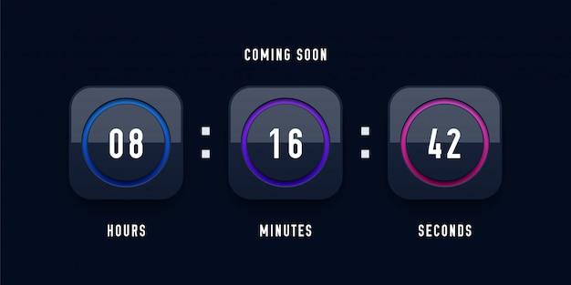 In kürze countdown-uhr