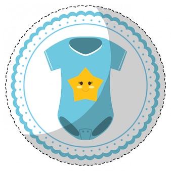 In verbindung stehendes ikonenbild der babyparty