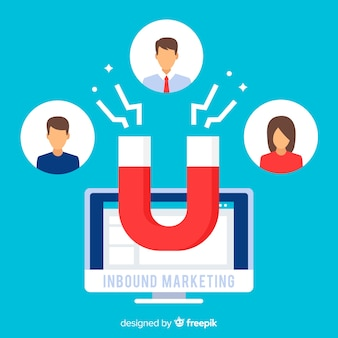 Inbound marketing hintergrund
