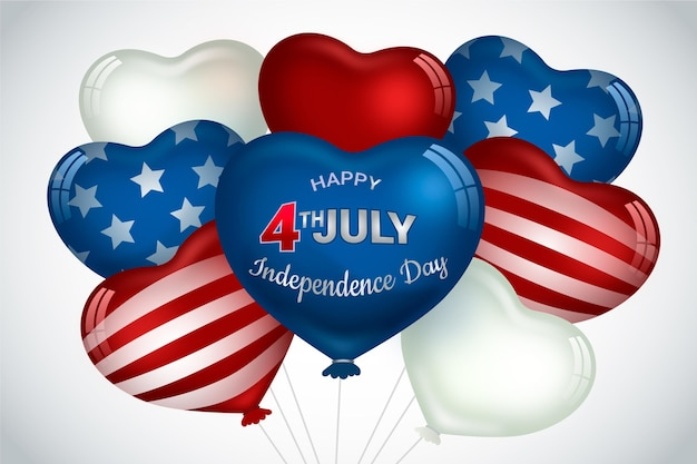 Independence day ballons wallpaper