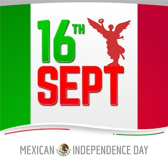 Independencia de méxico mit datum