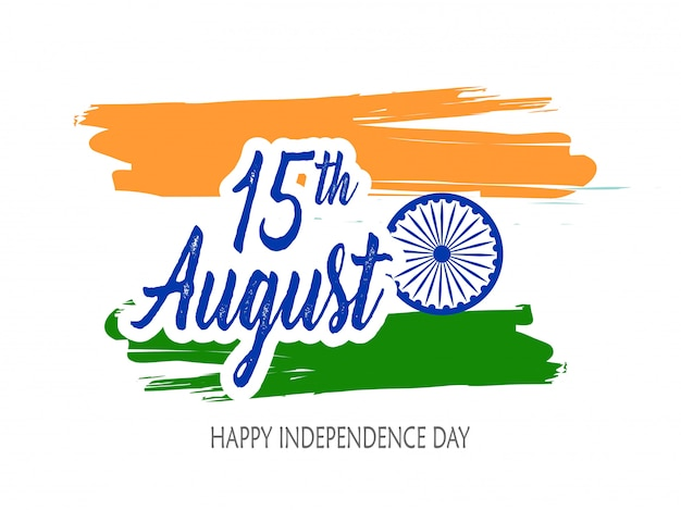 India independence day feier