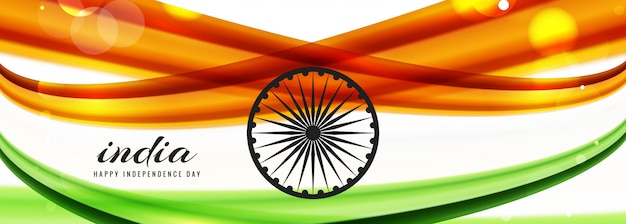 Indian independence day banner