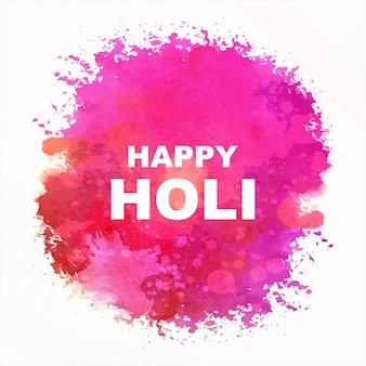 Indianerfest happy holi feiern mit farben