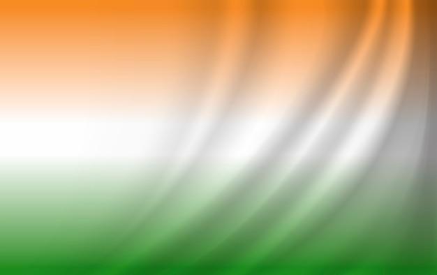 Indien flagge hintergrunddesign