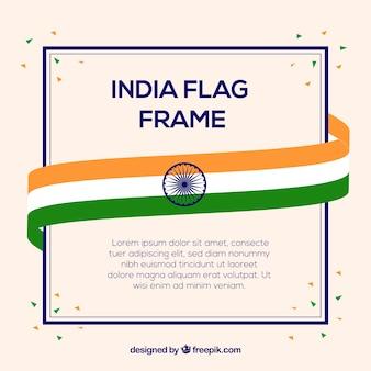 Indien Flagge Rahmen