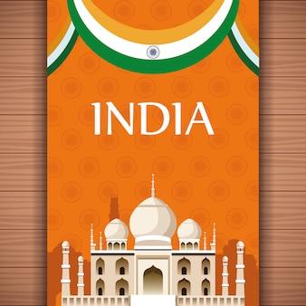 Indien-reisekarte