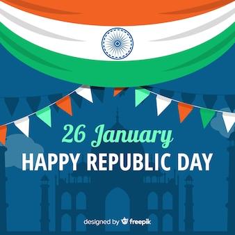 Indien republik tag hintergrund